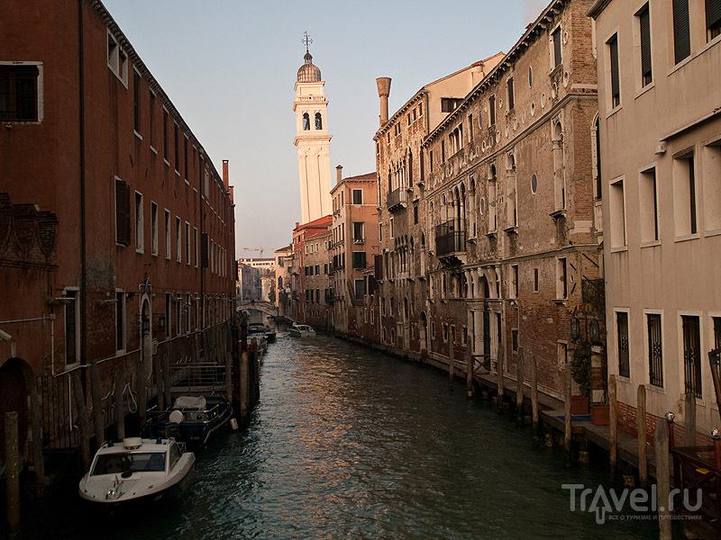 Падающая колокольня в Венеции / Фото из Италии