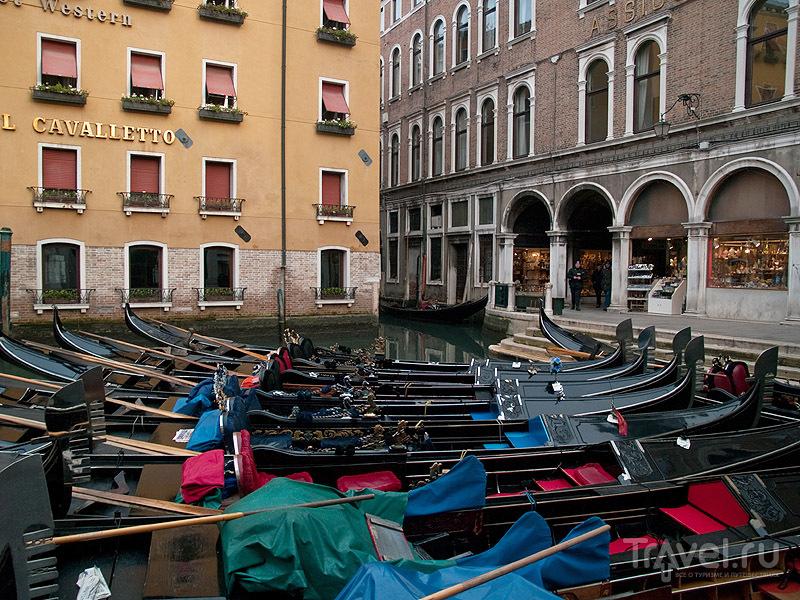 В декабря гондолы популярностью не пользуются / Фото из Италии