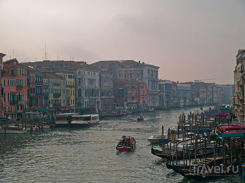 Туман над Гранд-Каналом / Фото из Италии