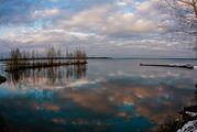 Зимнее озеро / Финляндия