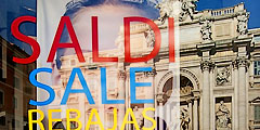 в Италии начнутся распродажи
