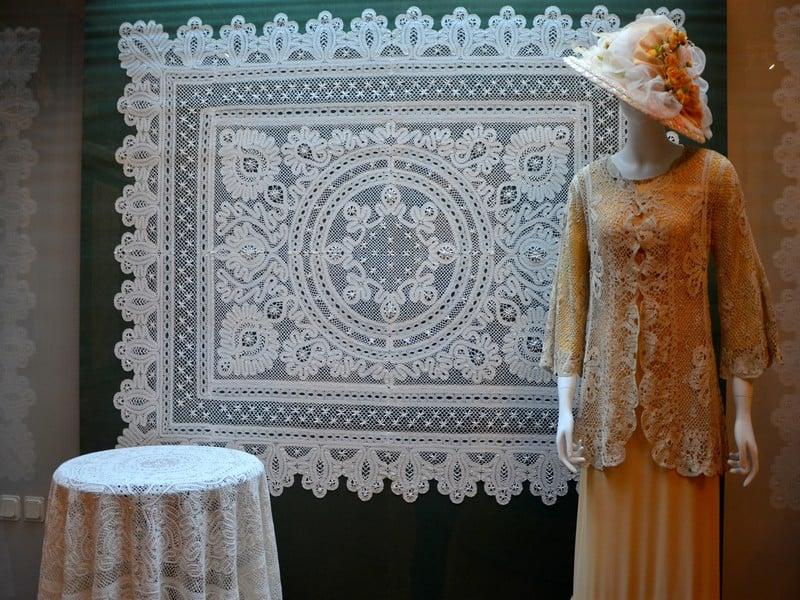 Экспонаты в Музее кружева / Фото из России