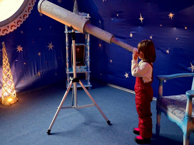 Сказочная обсерватория в доме Деда Мороза / Фото из России