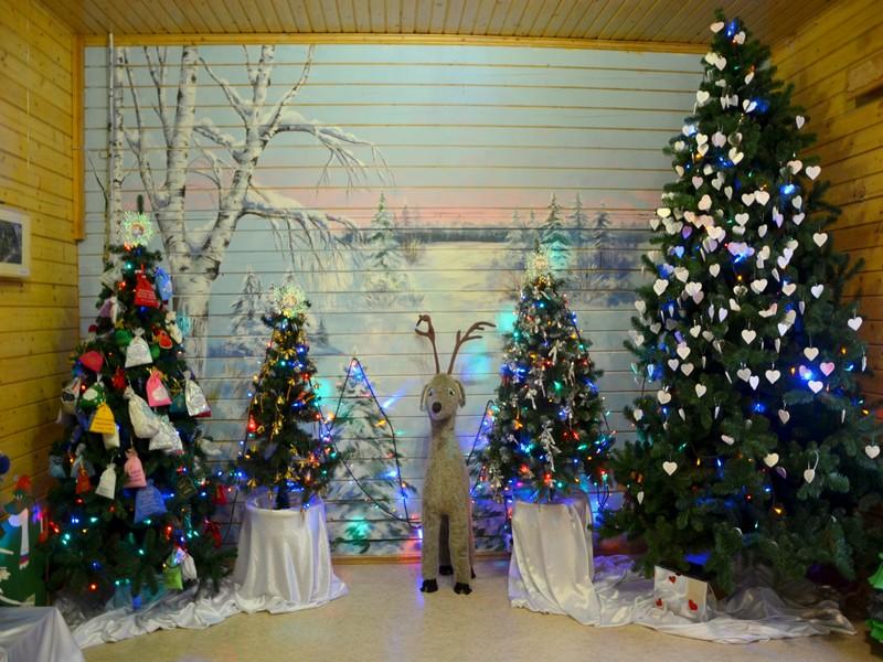 Интерьеры дома Деда Мороза / Фото из России