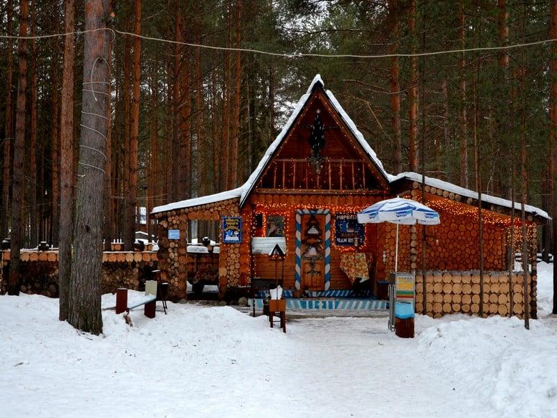 Чайная в вотчине Деда Мороза / Фото из России