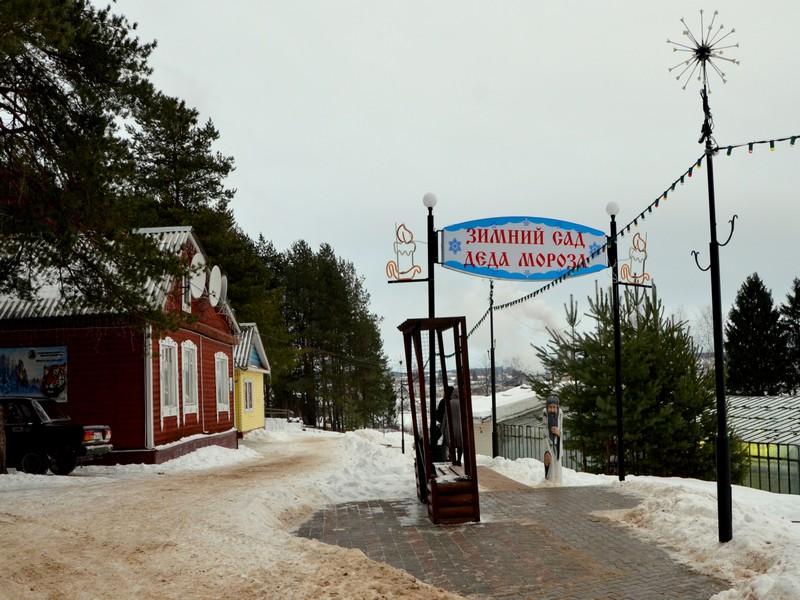 Дорога в Зимний сад / Фото из России
