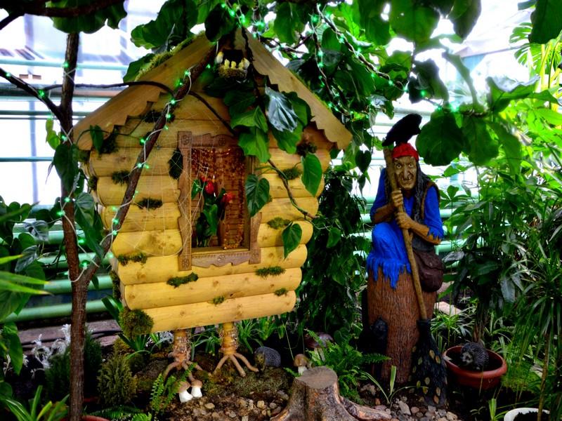 Зимний сад в вотчине Деда Мороза / Фото из России