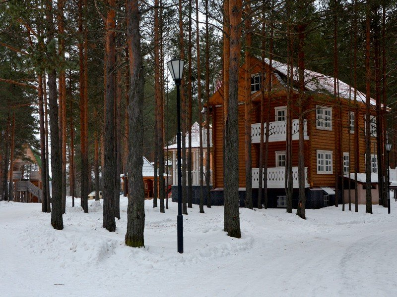 Коттеджи в вотчине Деда Мороза / Фото из России