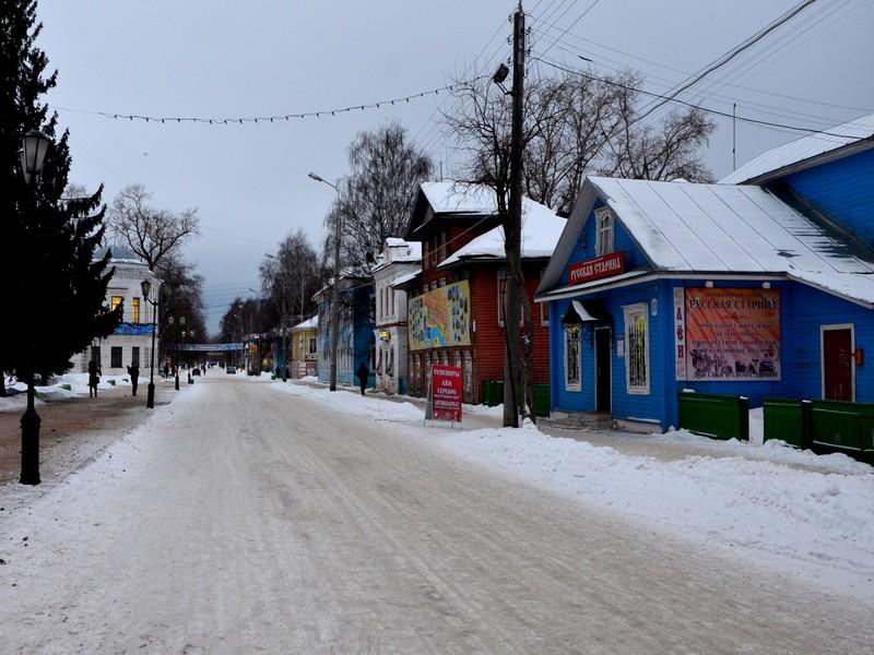 Купеческие особняки в Великом Устюге / Фото из России