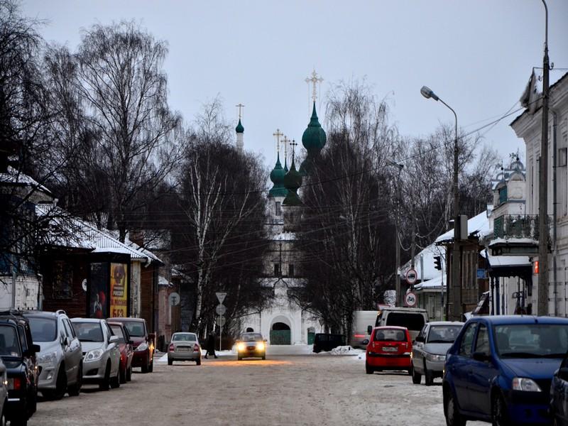 Владимирская надвратная церковь в Великом Устюге / Фото из России