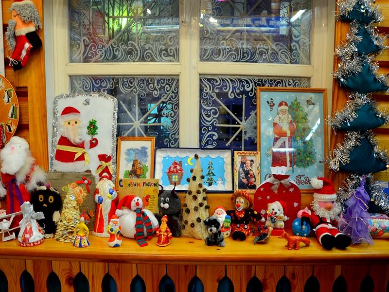 Интерьеры почты Деда Мороза / Фото из России