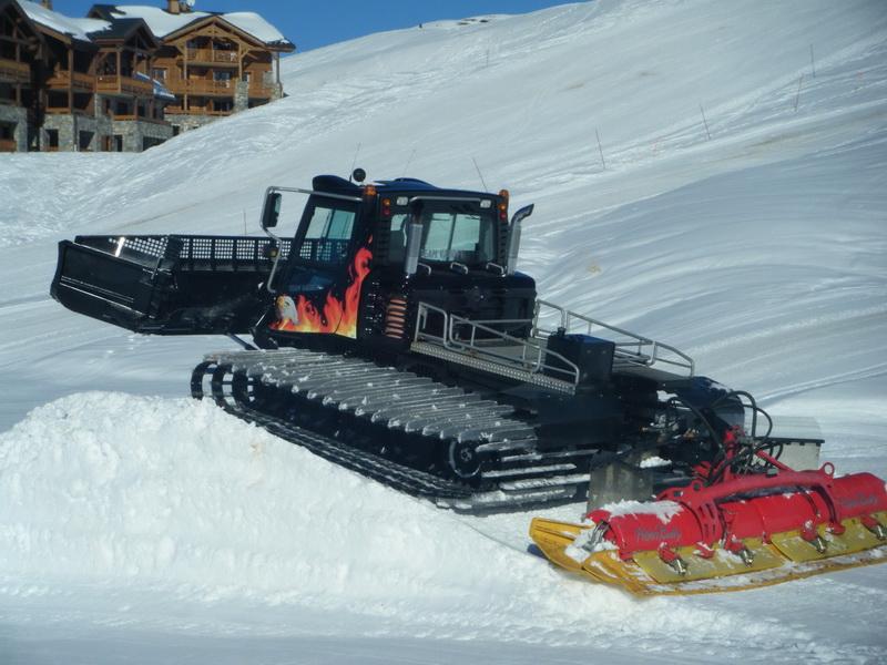 Снегоуплотнительная машина