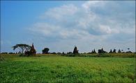 Ступы и трава / Мьянма