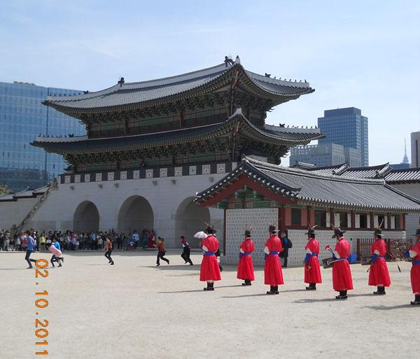 Дворец в Сеуле / Фото из Южной Кореи