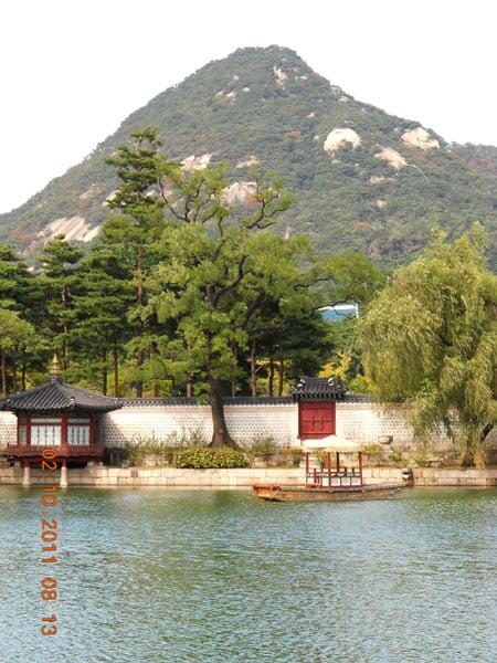 Один из дворцов Сеула / Фото из Южной Кореи