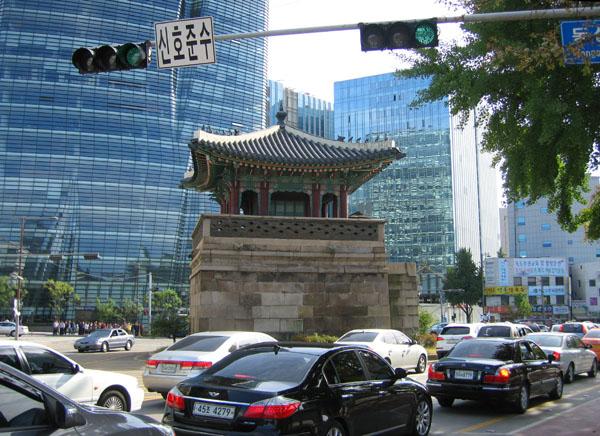 На улице в Корее / Фото из Южной Кореи