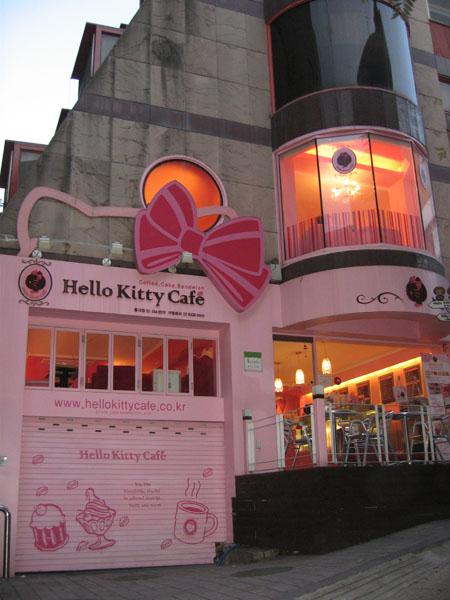 Кафе Hello Kitty в Сеуле / Фото из Южной Кореи