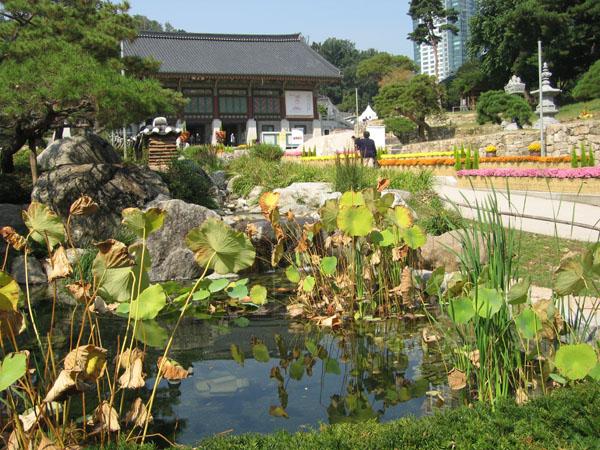 В монастыре Понъынса, Сеул / Фото из Южной Кореи