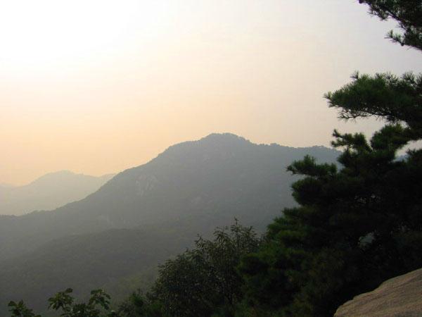Парк на горе в Сеуле / Фото из Южной Кореи