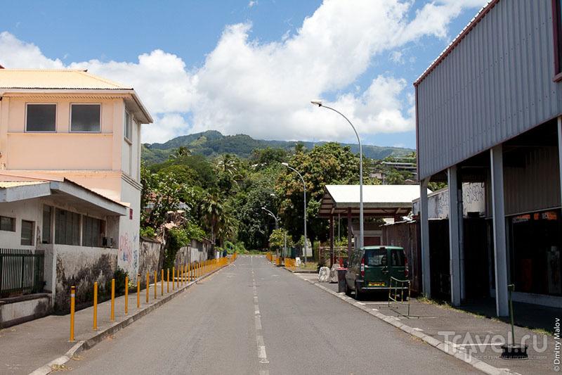 Улица на Таити / Фото из Французской Полинезии