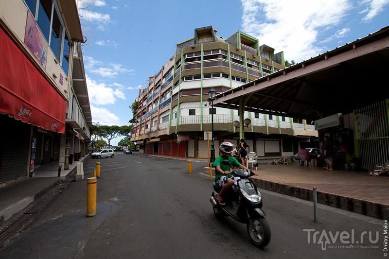 Рынок Папеэте на Таити / Фото из Французской Полинезии