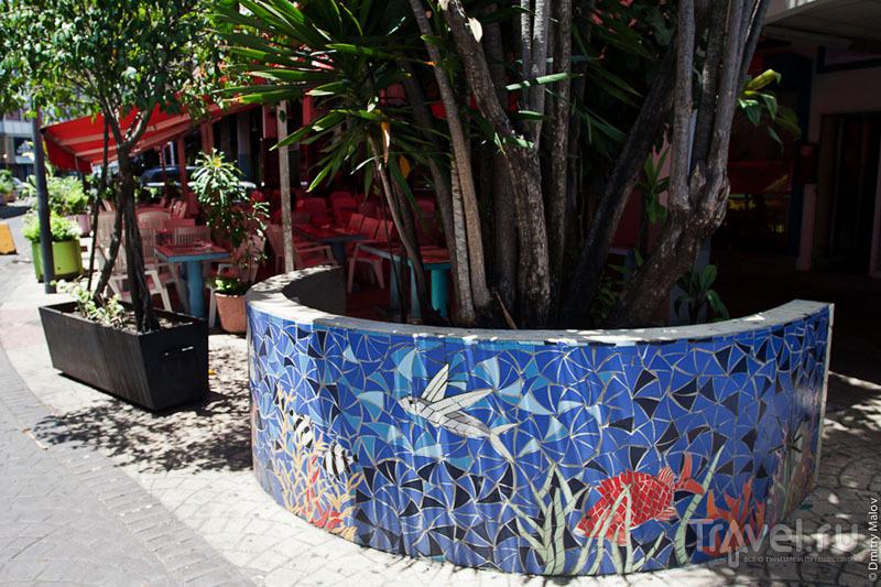 Мозаика на Таити / Фото из Французской Полинезии