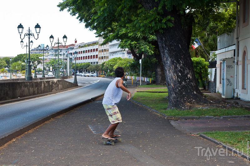 Бульвар Помаре, Таити / Фото из Французской Полинезии