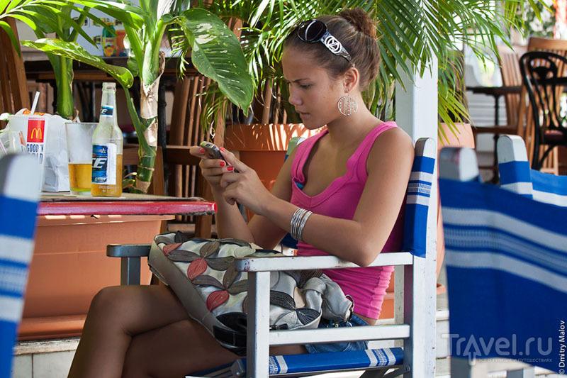 Девушка с Таити / Фото из Французской Полинезии