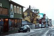 Улицы Рейкьявика / Исландия