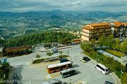 Остановка, вид сверху / Сан-Марино
