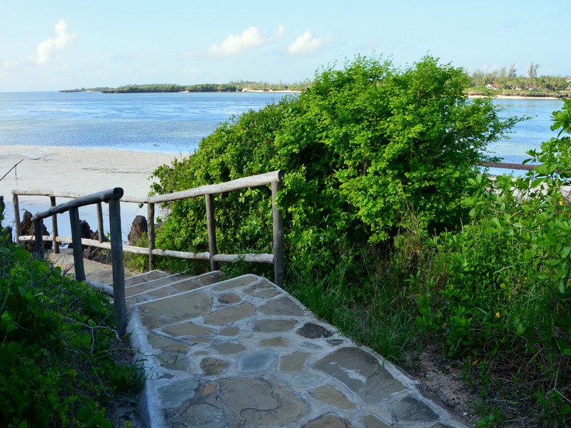 Пляж на курорте Малинди в Кении / Фото из Кении