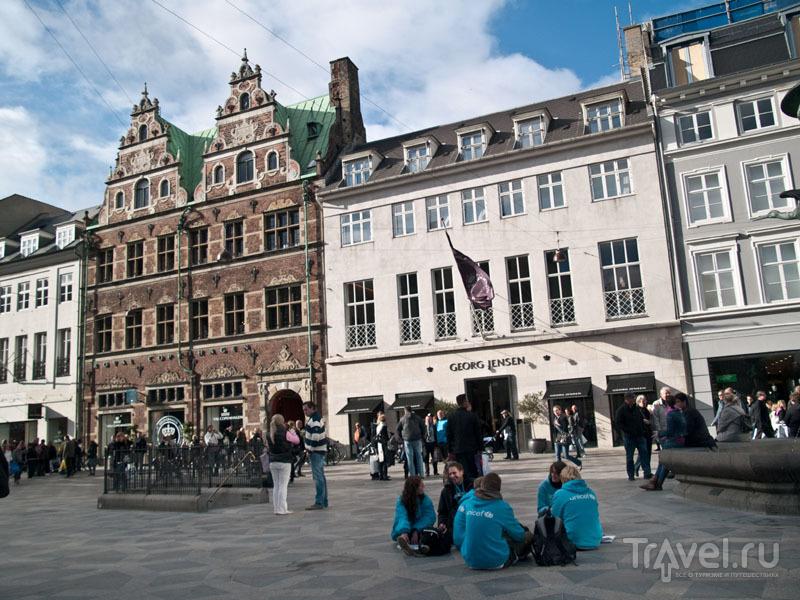 Центральная площадь в Копенгагене / Фото из Дании