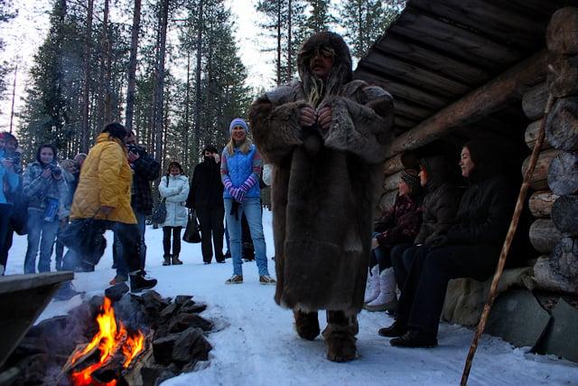 Встреча с шаманами в Финляндии / Фото из Финляндии
