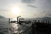 Кораблик уходит на остров Бон / Таиланд