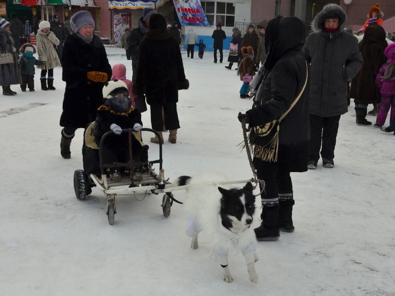 Жители Якутска / Фото из России