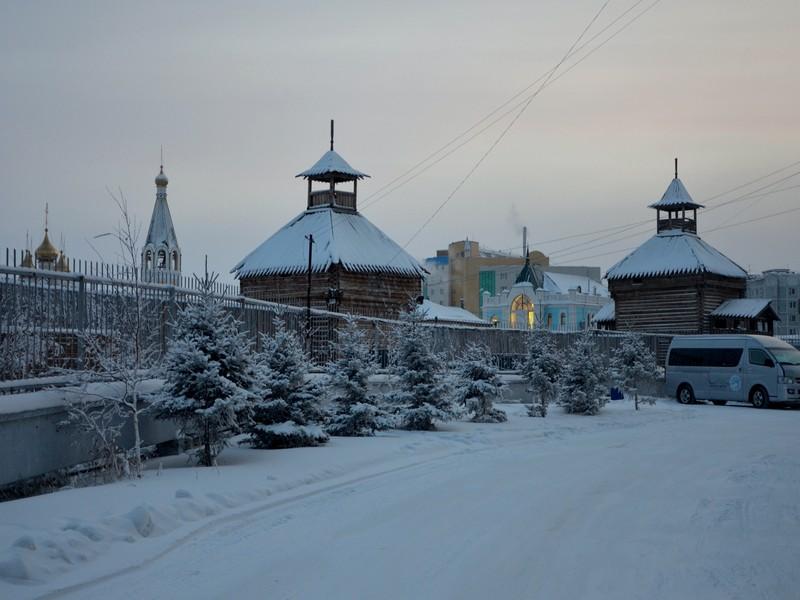 Якутск зимой / Фото из России