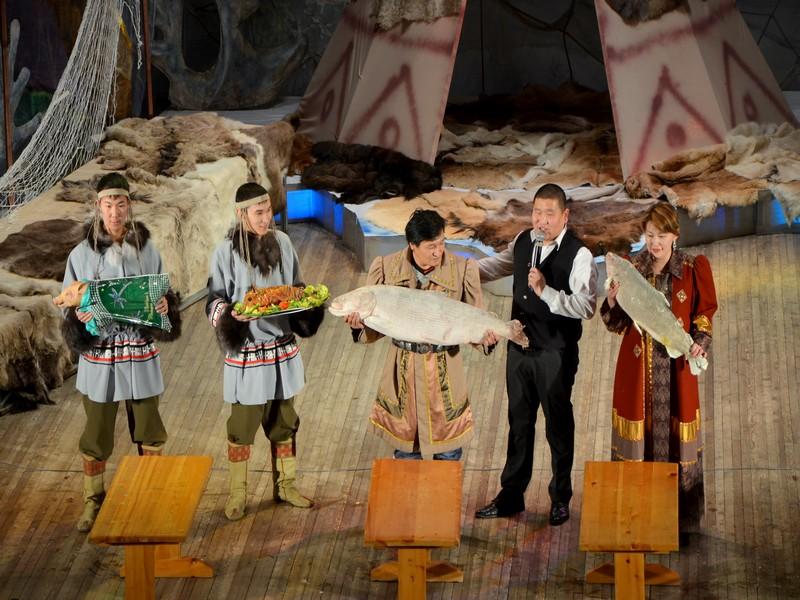 Конкурс на самую большую выловленную рыбу в Якутии / Фото из России