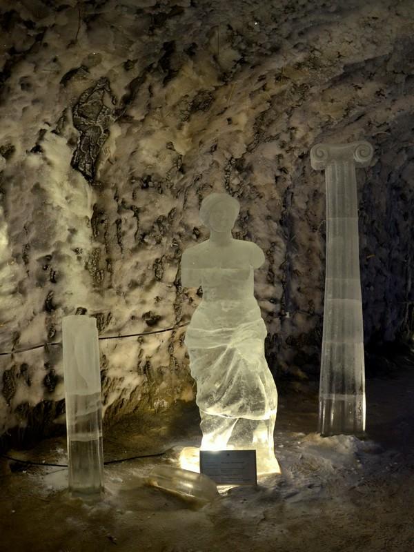 Ледяная скульптура в Якутии / Фото из России