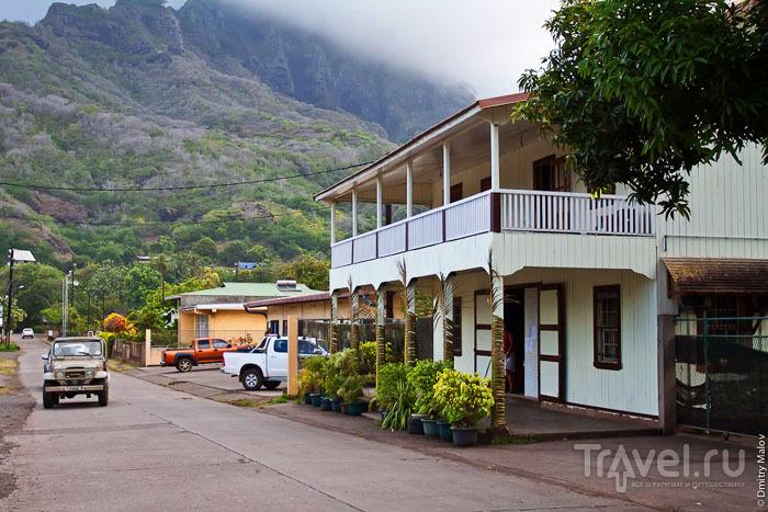 Колониальное здание на Маркизских островах / Фото из Французской Полинезии