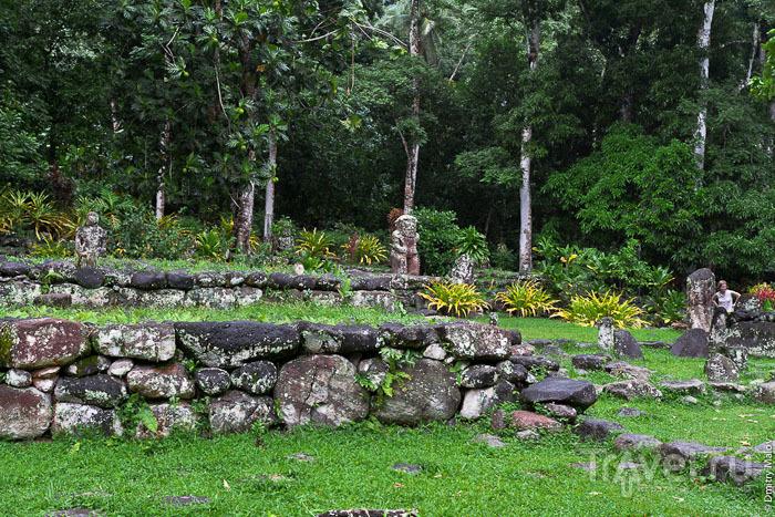 Истуканы на Маркизских островах / Фото из Французской Полинезии