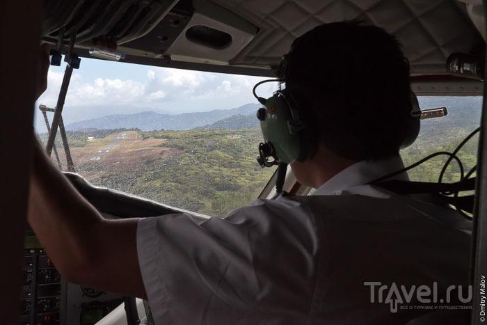 Над островом Тахуата / Фото из Французской Полинезии