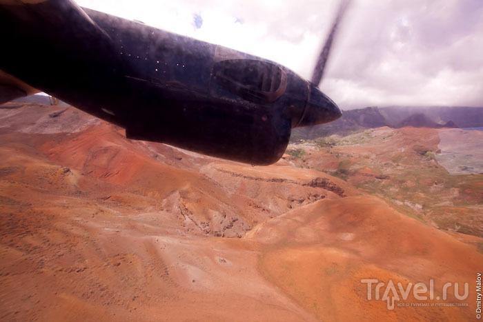 Вид острова Уа-Хука с самолета / Фото из Французской Полинезии
