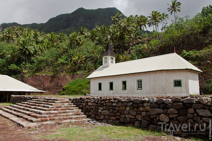 Церковь на Маркизских островах / Фото из Французской Полинезии