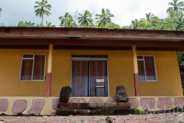 Дом на Маркизских островах / Фото из Французской Полинезии