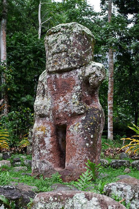 Идол Takai'i с острова Хива-Оа / Фото из Французской Полинезии