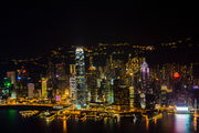Вид на сторону пика Виктория / Гонконг - Сянган (КНР)