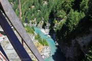 Мост над обрывом / Новая Зеландия