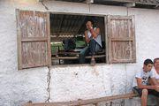 Окно барака / Куба