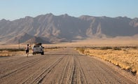 Гравийная дорога / Намибия