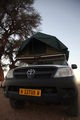 Палатка на крыше / Намибия